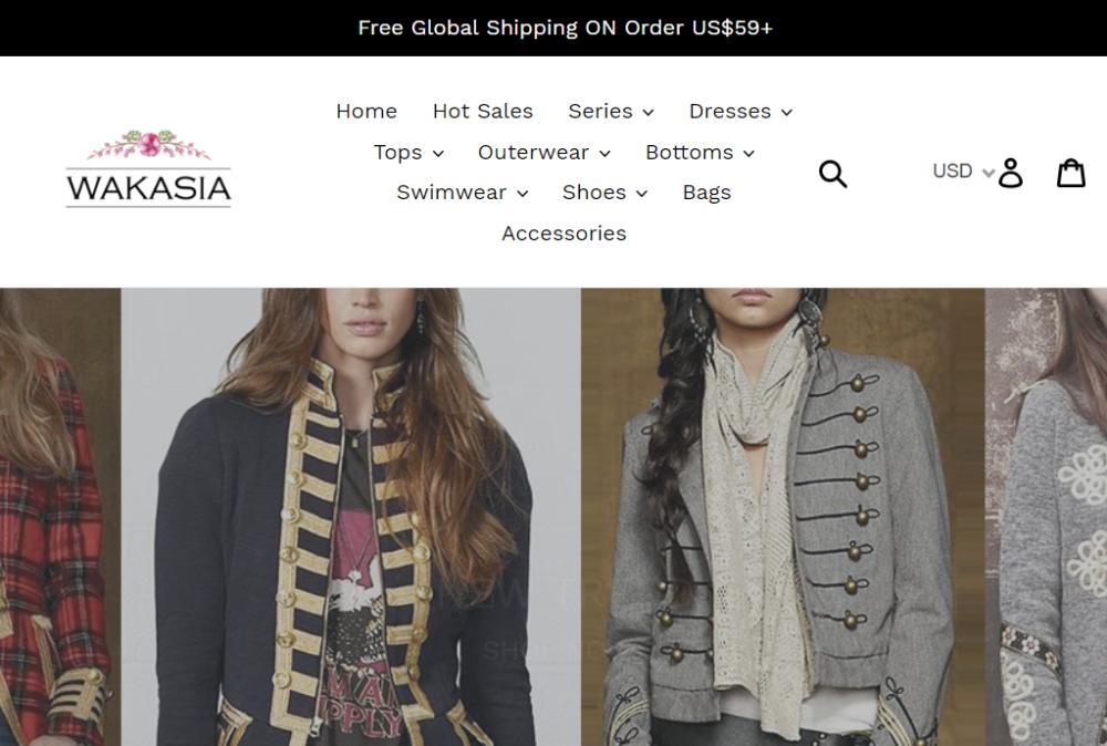 7e72f94e8a7 Отзывы о Wakasia.com – американский интернет-магазин женской одежды ...